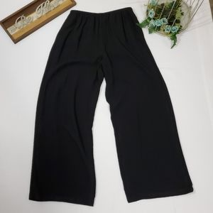 Eileen Fisher Pull On Gauzy Wide Leg Pants
